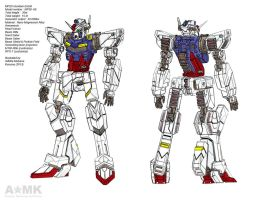 MP2D Gundam by adhitia