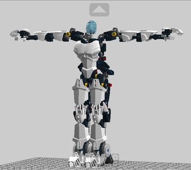 Bionicle Antro Male Toa 2.0 by Hypesteam