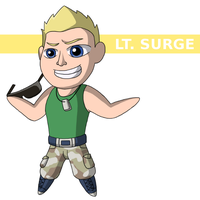 LT. SURGE by ToonYoungster
