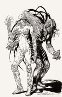 The Darkness and Witchblade inked by skeel76