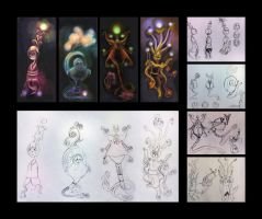 Neuron Character Designs by Odyism
