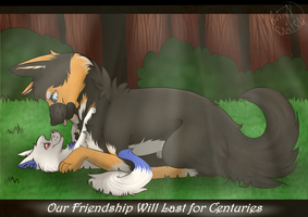 Friendship Forever|Commission by Brinxx