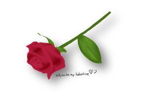 Valentine Rose by IncendiaryMedia