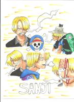 Sanji by Draw4fun2