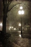 Late Night In A Southern Town by JaredWingate