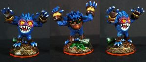 Custom Pop Fizz Beast Mode Figure by kodykoala