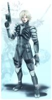 MGS2: Raiden by DarkLitria