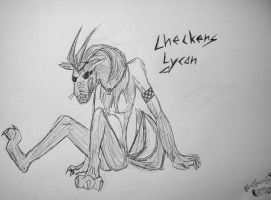 Checkers Lycan by leoslittlebride