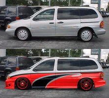 racing style windstar by fastworks