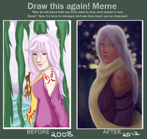 Draw This Again Meme by Luminela