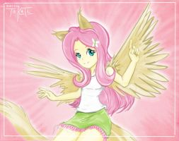 another fluttershy by tokatl