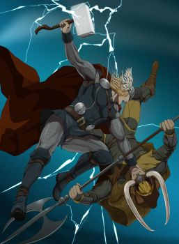 Thor by doubleleaf