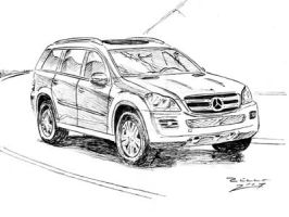 Mercedes Benz GL 450 by judge-design