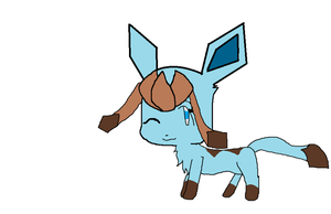 Lara as a Glaceon by pokelover897
