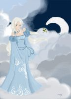 Clouds Lady by lady-yvaine