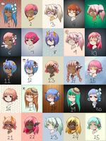 Free Adopts (CLOSED) by Tomboy-Kei