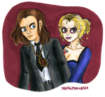Charles Lee Ray and Tiffany by Deathlydollies13