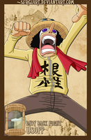 EPP - Davy Back Fight: Usopp by SergiART