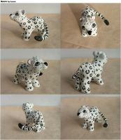 'Snow' the snow Leopard by lovelauraland