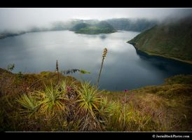 Cuicocha Crater Lake by justinblackphotos