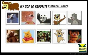 My Top 10 Favorite Bears by SithVampireMaster27