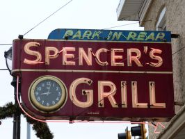 Spencer's Grill  Route 66 by RonTheTurtleman