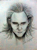 Loki Sketch by aerith0808