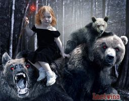 Goldilocks And The Three Bears by laeti-k