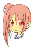 Hyuta chibi head by lehriisaurs
