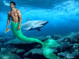Real life Merman 01 by hottestillusion