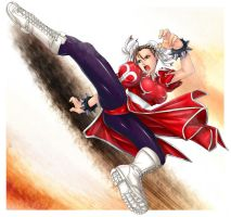 chun-li by marchinx1
