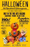 Pumpkin Carving at UNK 2014 by after-the-funeral