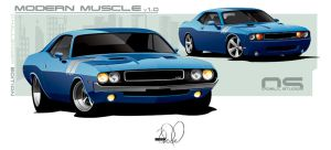 Modern Muscle Challenger final by cityofthesouth