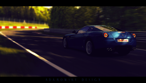 Gran Turismo 5: Ferrari at the Nurburgring by Adamowsky-Design