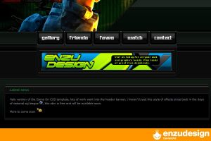 Halo ' Game On ' CSS by EnzuDes1gn