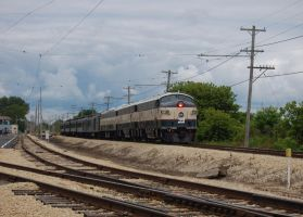 BN-1 Wesbound Past Union by ShayNo7