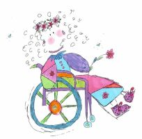 Disabled - Wheelchair girl 2 by engelliler-disabled