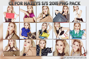 2NE1 - CHAERIN PNG PACK 01 by CupcakeSwift