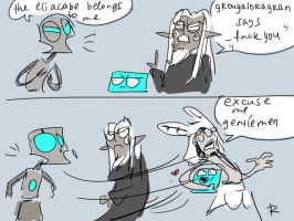 wakfu doodles 34 by Ayej