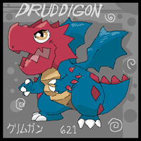 Chibi Druddigon by Domosexual