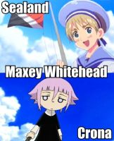 Voice Actor: Sealand and Crona by Mask--Chan