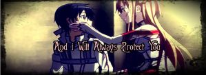 Facebook Timeline Cover - Kirito and Asuna by VitorAmorosoUzu