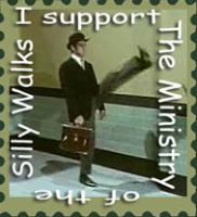 Ministry of Silly Walks Stamp3 by SirCrocodile