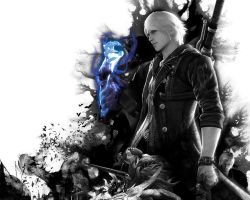 Devil may cry 4 poster by D3nte