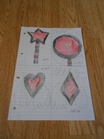 sailor dark moon's brooches by alisonporter1994