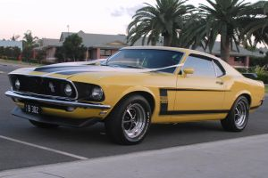 Boss 302 Ford Mustang by l0stSnyPr