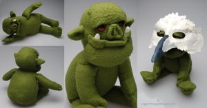 Orc Plush by Quilsnap