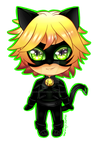 Tiny Chibi: Chat Noir by manu-chann