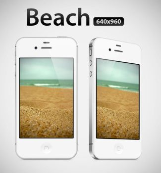 Beach x iPhone Retina Display Wallpaper by infernoragazzo