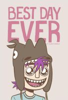 BEST DAY EVER COVER ART? by black-rider
